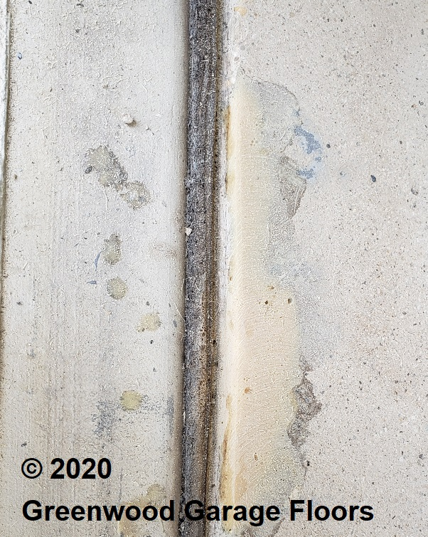 How to fix concrete chips