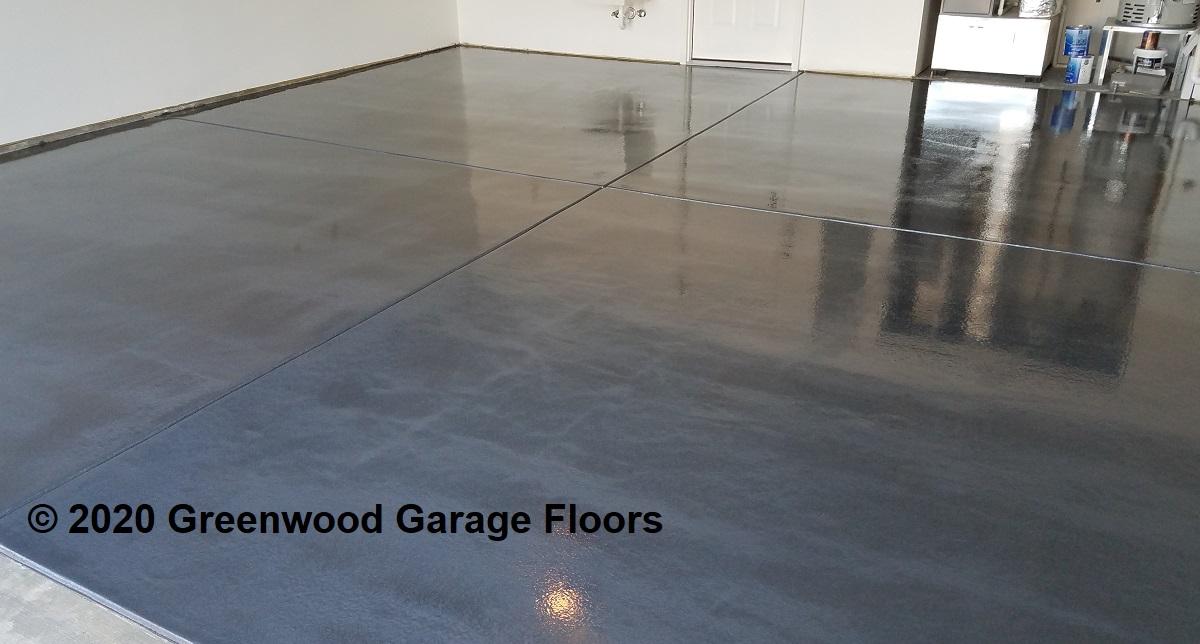 smooth garage floor