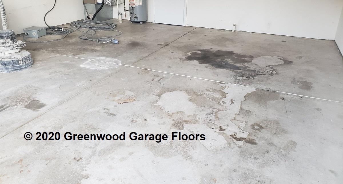 Greenwood garage floors